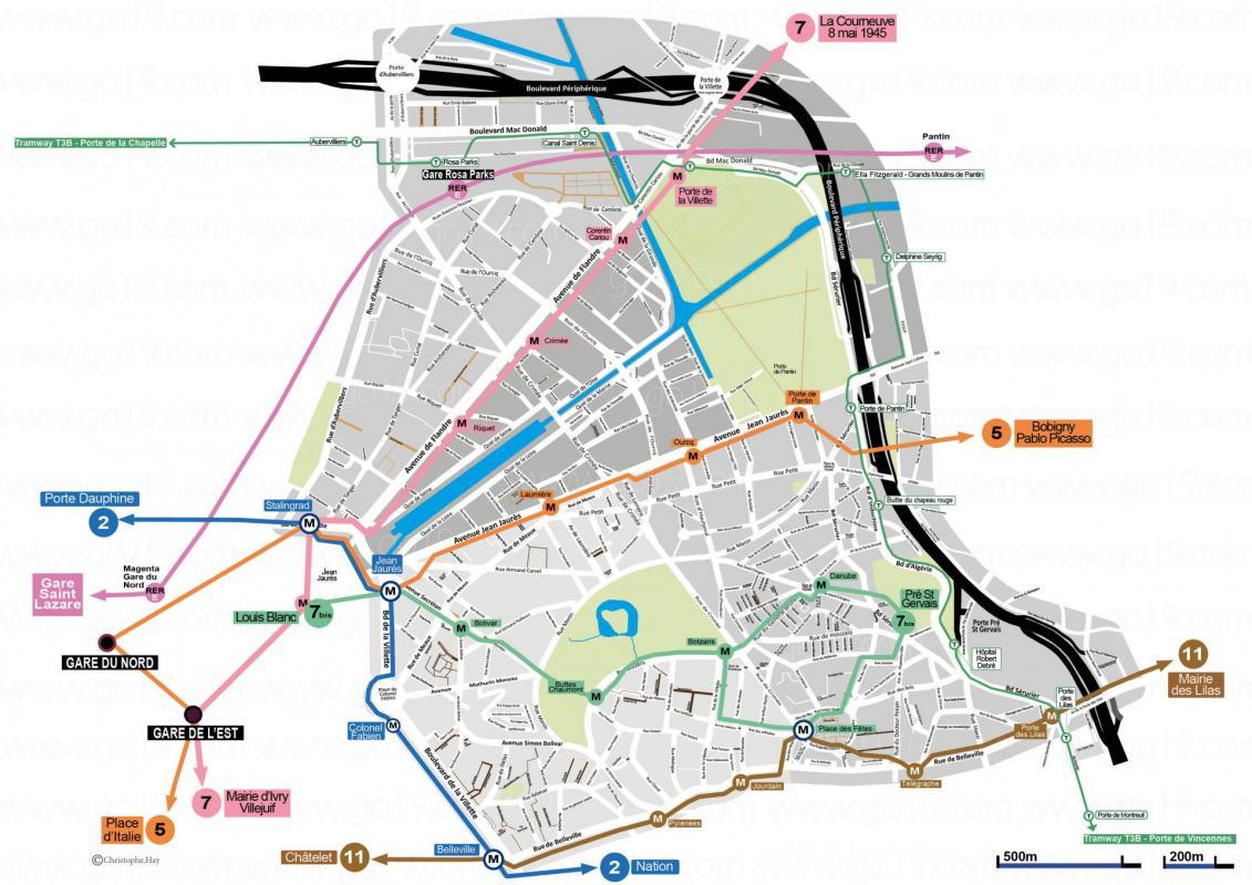 Carte des metros 2021 150