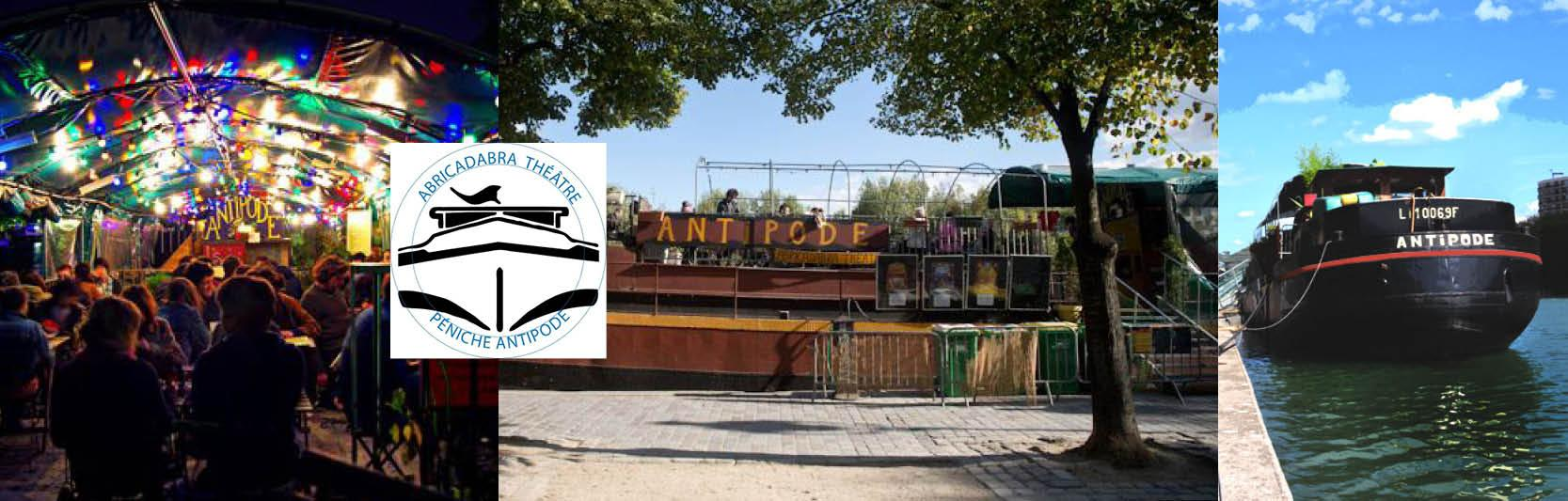 Péniche Antipode - Zone 2
