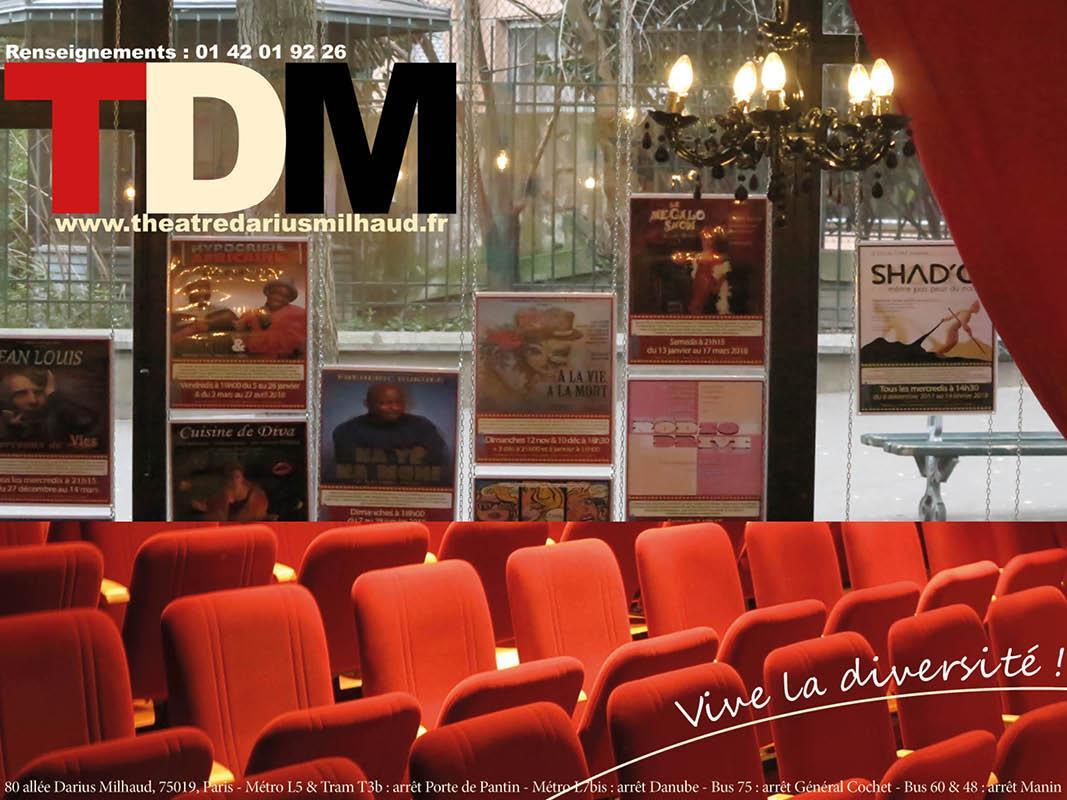Découvrez le Théâtre Darius Milhaud