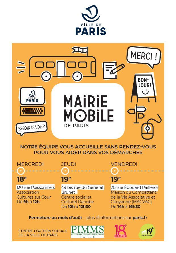 Tract mairie mobile